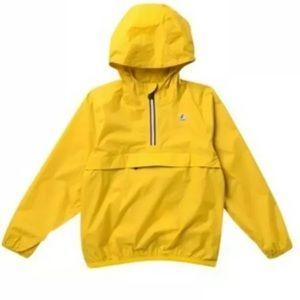 NWT K-WAY Half Zip Jacket Toddler Boy RAINCOAT